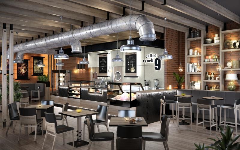 Projekt kawiarni Prownes