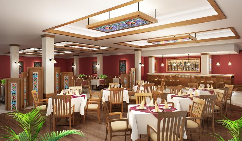 restauracja nieborow
