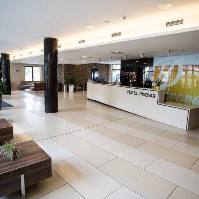 Lobby Hotelu Pivovar