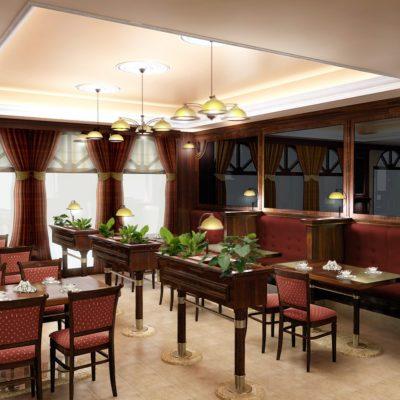 kawiarnia stylizowana w Dusznikach