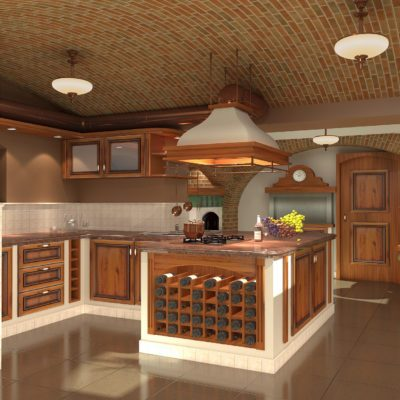kuchnia w rezydencji