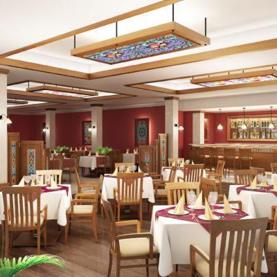 Restauracja w Nieborów