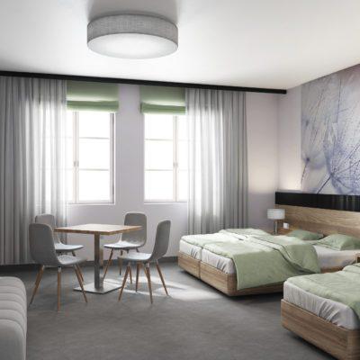 Pokój hotelowy Torzym