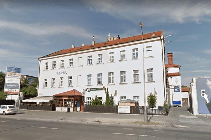 Hotel Pivovar - widok na cały obiekt