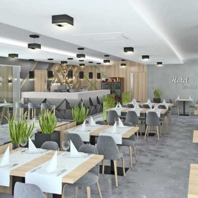 Restauracja Hotelu Benica wCzechach