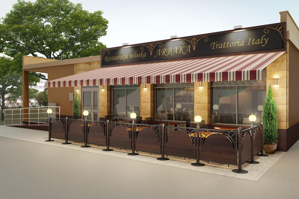 Ogródek Restauracja Arbaka Kozienice