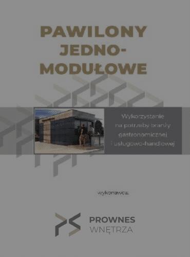 Pawilony Jedno - Modułowe - katalog