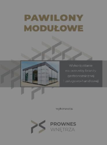 Pawilony Modułowe - katalog